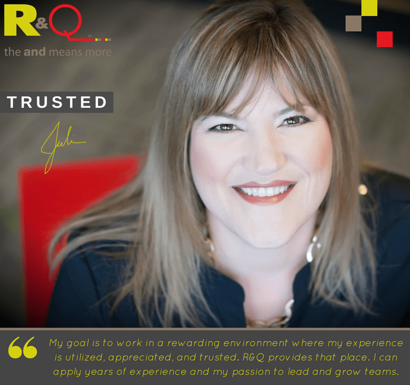 R&Q Team medical device consultants Julie