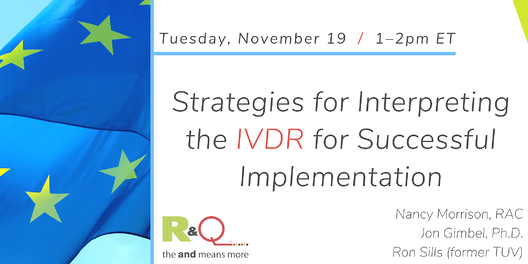 Strategies for Interpreting the IVDR for Successful Implementation