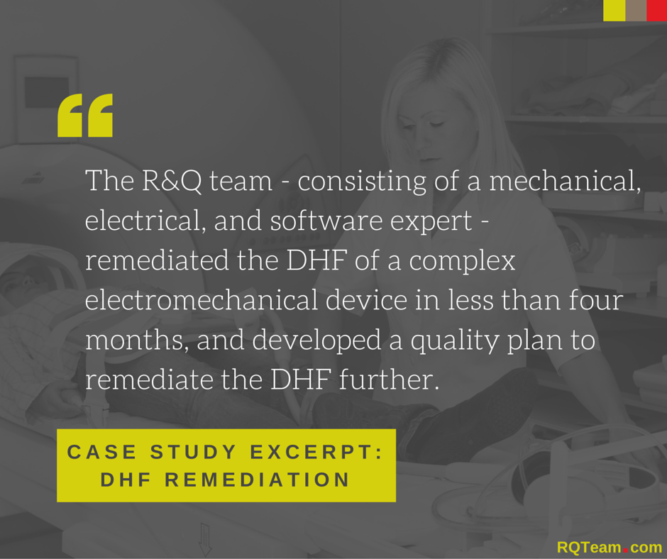 R&Q Case Study: DHF Remediation Services